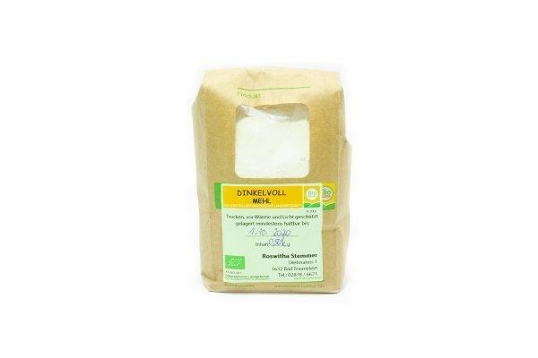 Dinkelvollmehl vom Biohof Stemmer | Tasty Retro Bio Dinkel Online Shop