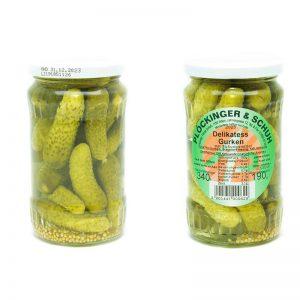 Delikatess Gurken Plockinger & Schuh | Tasty Retro Online Shop