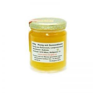 Honig mit Sonnenblume Floridsdorfer Imkerei Kubista | Tasty Retro Online Shop